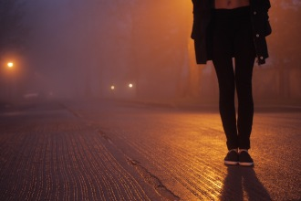 Foggy Night by Max Haben